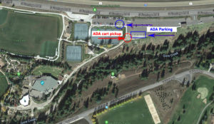 Ford Amphitheater ADA map