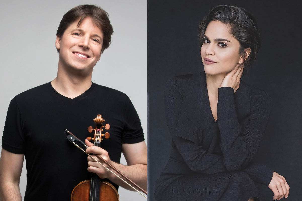 """VPAC Presents: Joshua Bell & Larisa Martínez's """"Voice and the Violin"""" with pianist Peter Dugan"""