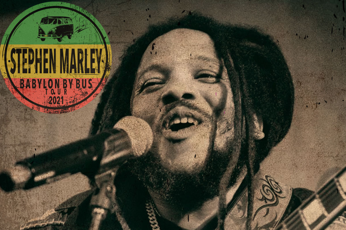 CANCELLED | Stephen Marley – Babylon By Bus Tour